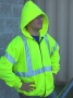 Hi-Viz Hooded Sweatshirt (case of 25)