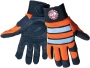 Hi-Vis Aireflex Synthetic Leather Gloves (4 pair)