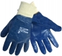 Light Blue Full Dipped Nitrile Glove (6 pair)