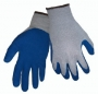 Economy Blue Flat Dipped Gloves (6 pair)