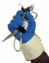 """4"""" Rubberized Safety Cuff Gloves (6 pair)"""