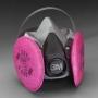 3M™ Half Facepiece Respirator Assemblies, 6000 Series
