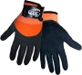 3/4 Dipped Black Nitrile Gloves (6 pair)