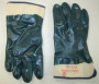 Blue Fully Dipped Nitrile Jersey Gloves (6 pair)