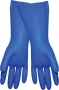 Blue Raised Pattern Gloves (12 pair)