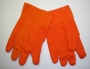 18 oz. Safety Orange Corded Gloves (12 pair)