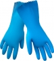 Flocklined Blue Honeycomb Gloves (12 pair)