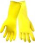 Flocklined Yellow Diamond Pattern Gloves (12 pair)