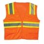 Economy Orange Vest (case of 100)
