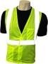 High Visiblity Fluorescent Lime Vest (cast of 50)