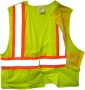 Mesh Safety Vest Breakaway (case of 50)