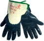 Palm Dipped Nitrile Jersey Safety Cuff Glove (6 pair)