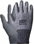 Samurai Gray Polyurethane Gloves (6 pair)