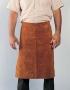 Waist apron w/ heavy-duty waist strap