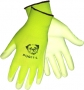 White Polyurethane Palm Dipped Gloves (12 pair)