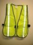 Economy Lime Green Vest (case of 100)